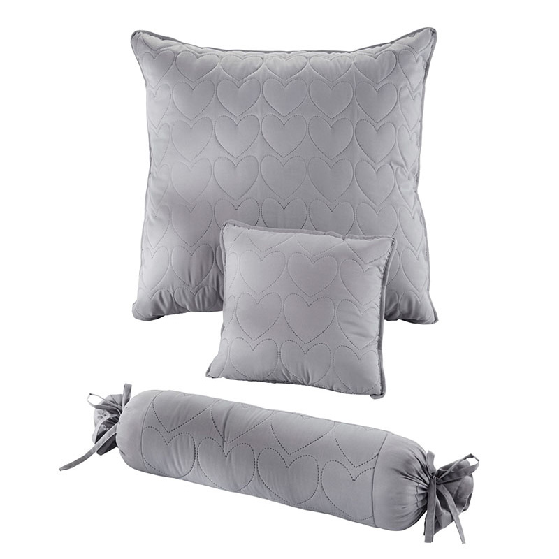 Pure Color Quilted Throw Pillows