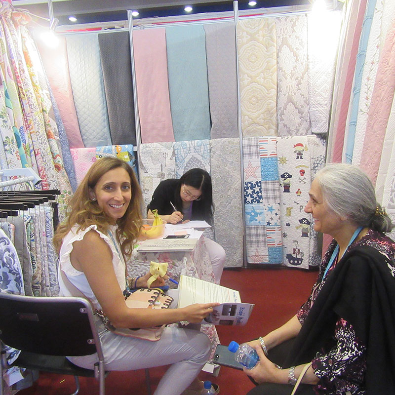 125 Canton Fair quilts bedspreads coverlets HJ Home Fashion