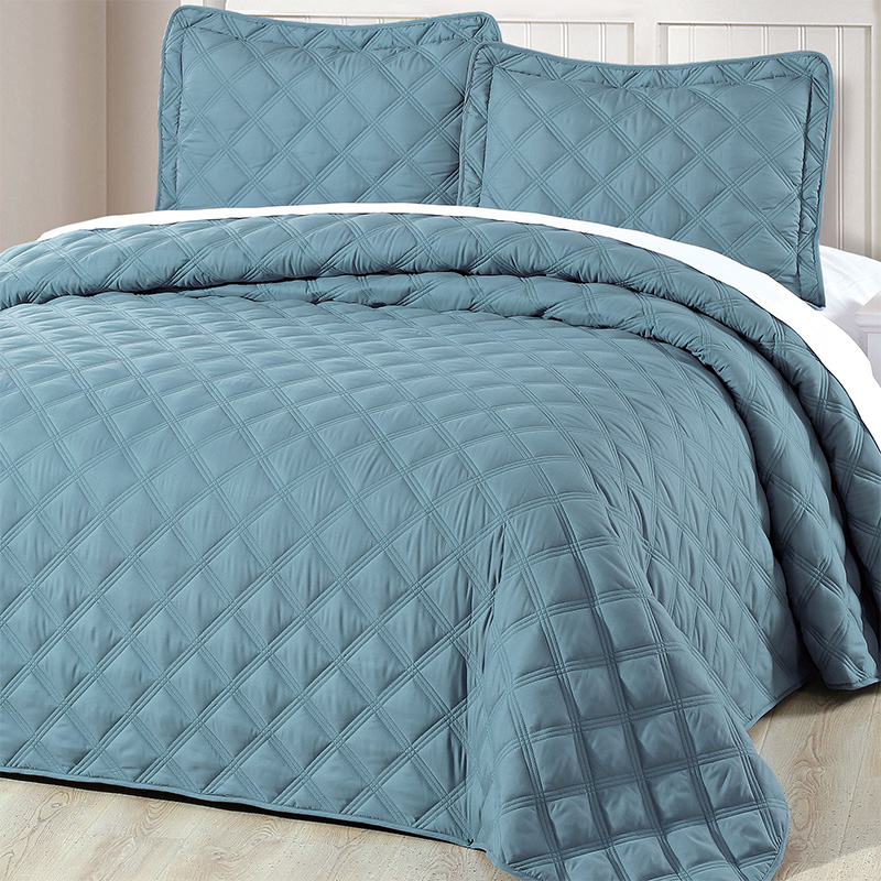 diamond quilt bedding set