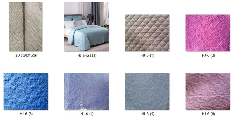 chian bedding set factory pinsonic embossed