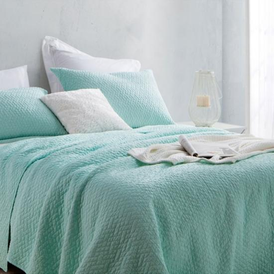 Brushed Microfiber pre washed quilt set