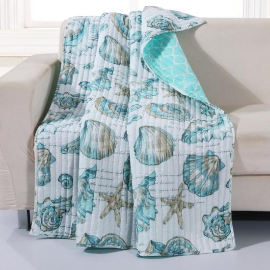 reversible quilted throw blankets