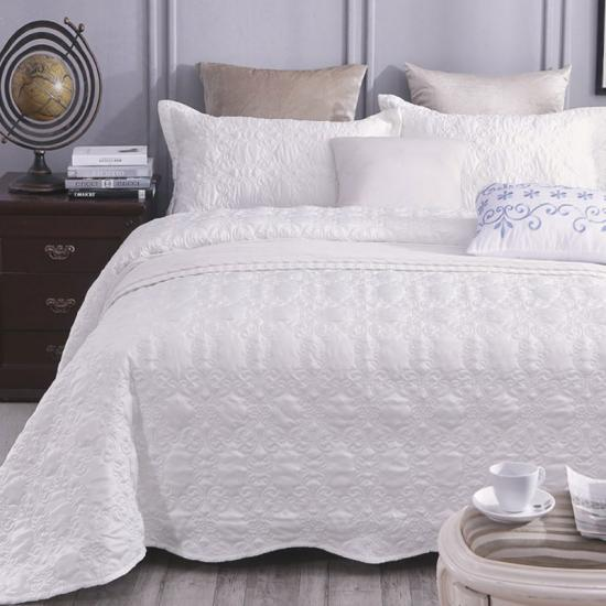 satin solid quilt cover